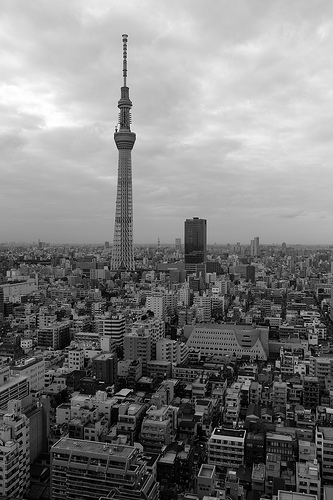 Tokyo sky tree by yuki_september