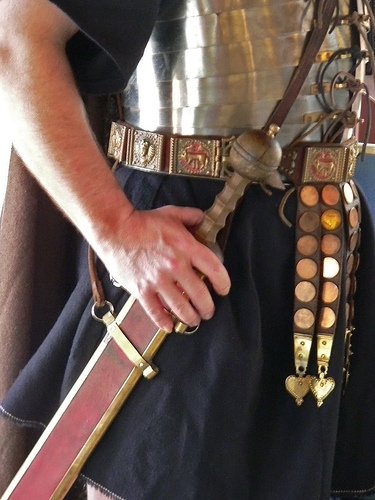 Roman Gladius by Mary Harrsch