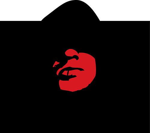red in black by Lucas Vipieski