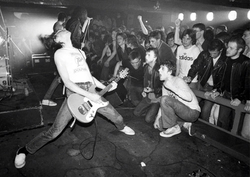 The Ramones at Eric's Club, Liverpool, England by Ian Dickson/www.late20thcenturyboy.com
