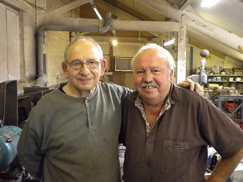 Master Craftsmen: knifemakers Trevor Ablett and Reg Cooper