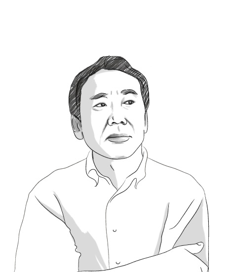 Haruki Murakami by Fellowsisters