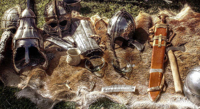 anglo saxon armoury still life HDR by LHG Creative Photography