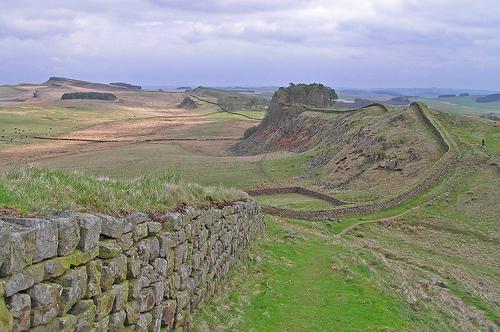Hadrians Wall by Ian Robertson