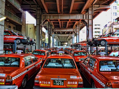 Tokyo Taxi by Altus Wilder